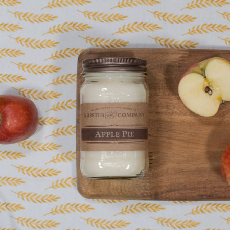 16oz Jar of Apple Pie Soy Candle