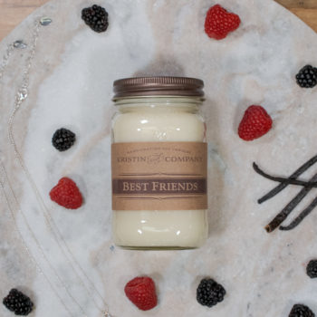 16oz Jar of Best Friends Soy Candle