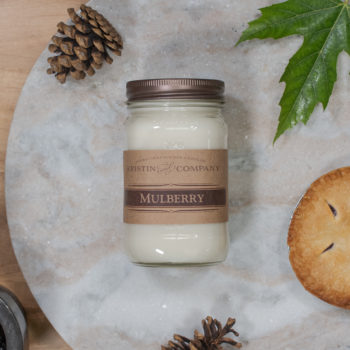 16oz Jar of Mulberry Soy Candle
