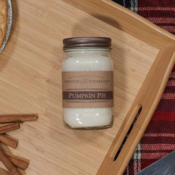 16oz Jar of Pumpkin Pie Soy Candle