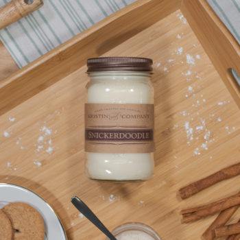 16oz Jar of Snickerdoodle Soy Candle