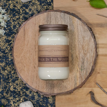 16oz Jar of Walk in the Woods Soy Candle